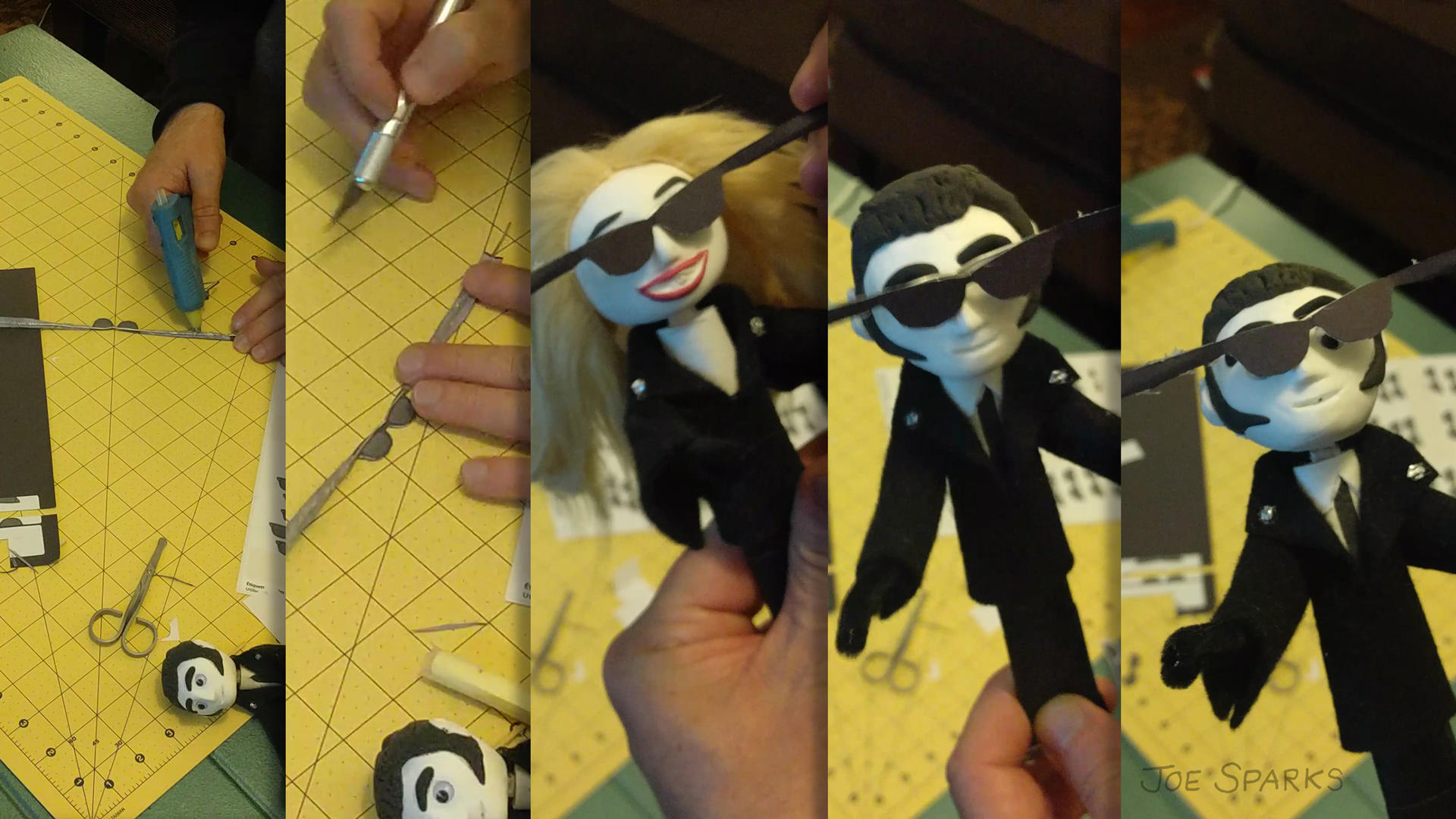 Failed attempt to make sunglasses