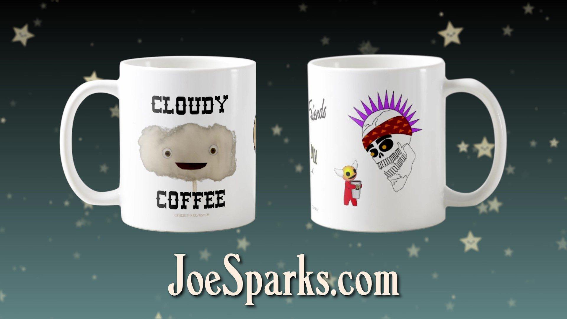 """Coffee with Friends"" mugs"